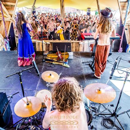 Tour of 27 Festivals 2018