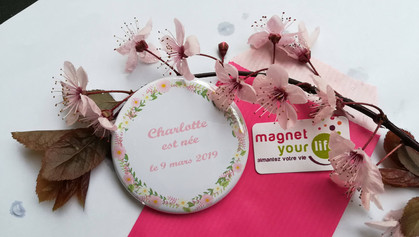 Badge Magnet Your Life