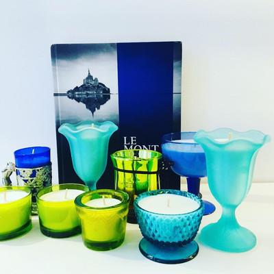 charity bougies de ny bleues