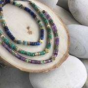 Collection IBIZA Bracelets ajustables en pierres naturelles et hématite