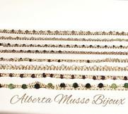 Bracelets argent 925 et flash Or