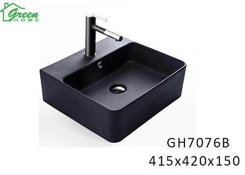 Art basin matte black GH7076B