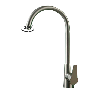 kitchen tap stainless steel GHS4232
