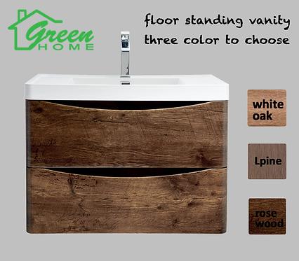 Floor Standing vanity 800mm wide