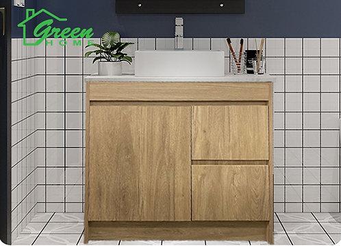Floor Standing Plywood Vanity- 750/900/1200- White Oak #GHOL