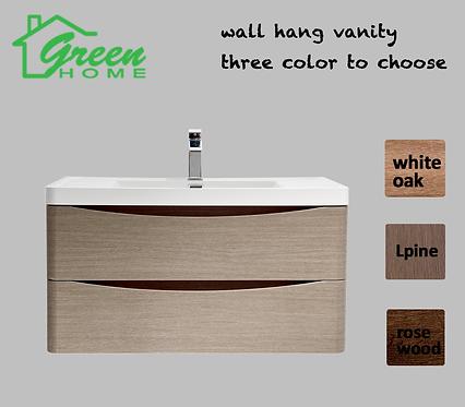 Wall-hang vanity600mm