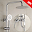 Thumbnail: Rain Shower Set Three Ways Clear Stock