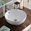 Thumbnail: Round Countertop Ceramic Basin-White