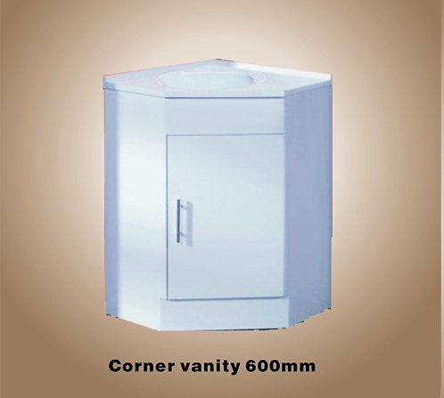 Corner vanity 600mm