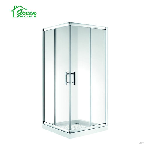 Square Double Slide Door Shower Box 900x900mm