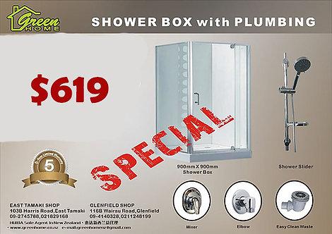 Shower box combo $659