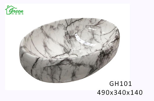 Marble Ceramic Art Basin GH101
