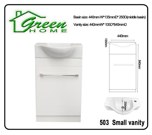 GH503 440mm Slim Vanity/Small Vanity