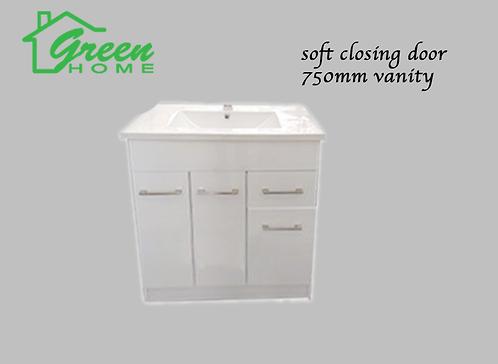 Vanity 750mm soft close