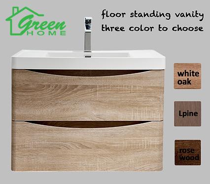 Floor Standing vanity 900mm wide