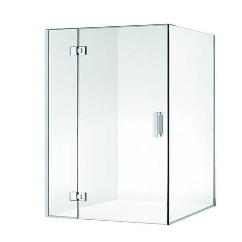 Frameless shower Swing Door 1200 x 900