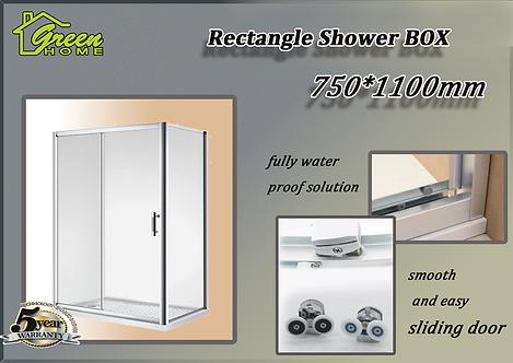 Shower Box 750*1100mm Sliding Door