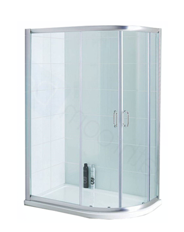 Curved Shower 800mm x 1200mm