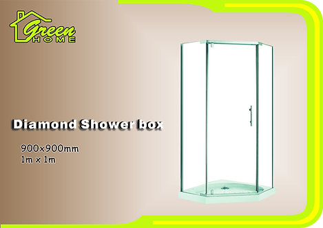 GJ7007-900*900mm Diamond Shower Box