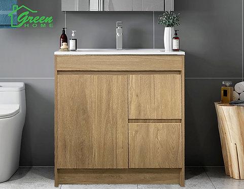 Floor Standing Plywood Vanity-750/900/1200- White Oak