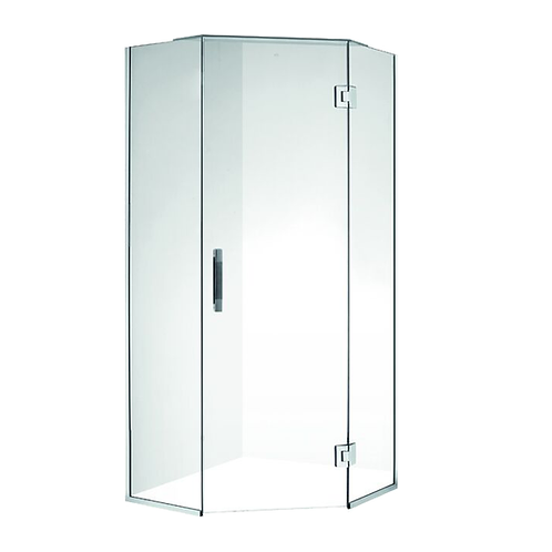 900*900 Frameless Diamond Shower Box