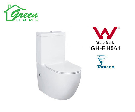 Tornado Toilet GH561 Full Back to Wall (Green Home)