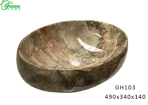 Marble Ceramic Art Basin GH103