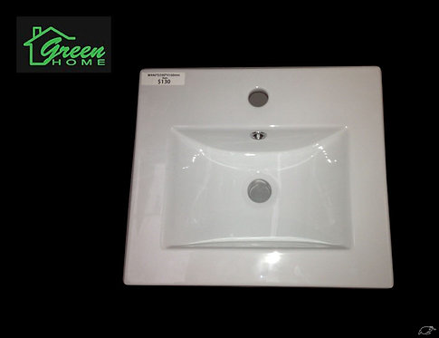 Rectangular Basin 445mmx392mm