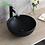 Thumbnail: Round Countertop Ceramic Basin-Black