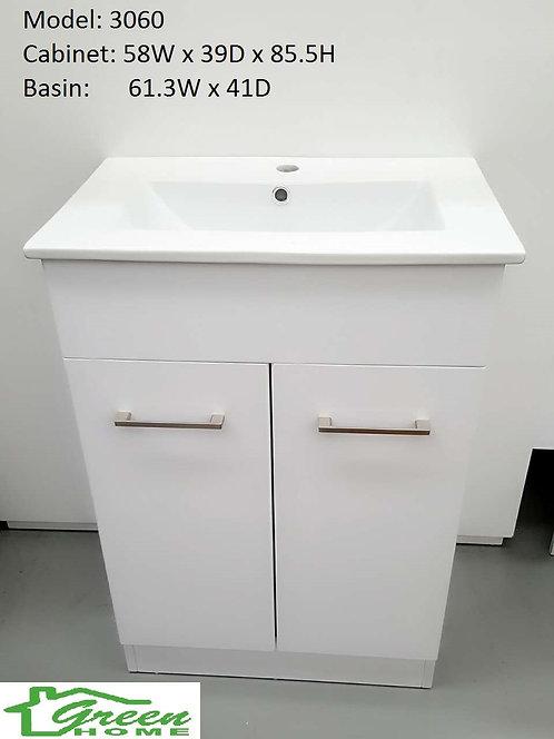 600mm slim vanity