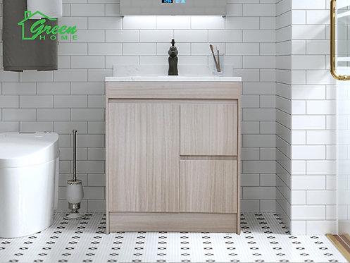 Floor Standing Plywood Vanity- 400/750/900/1200- Washed Oak