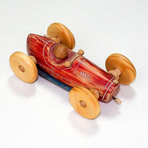 "Rode auto met ""knik"" in de wielen"