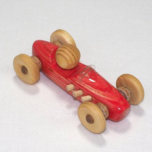Kleine blinkende rode auto