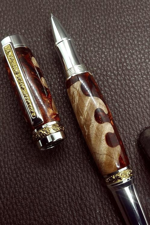 The King - Oak Wood Acryllic