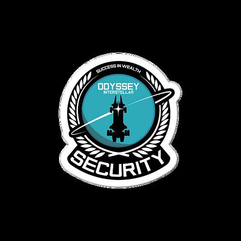 Security Base Sticker