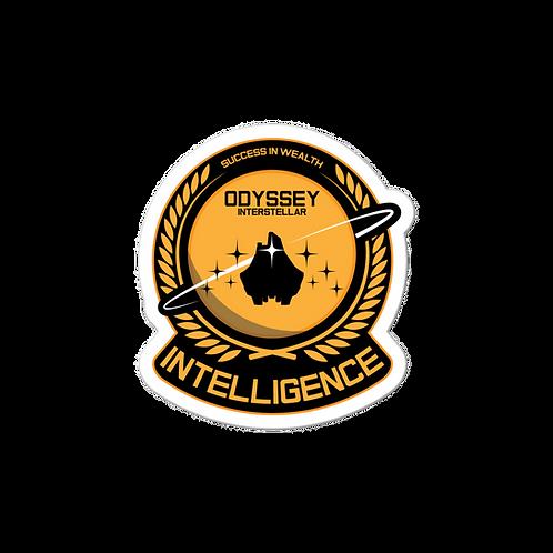 Intelligence Executive Sticker