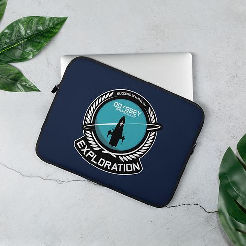 Exploration Base Laptop Sleeve