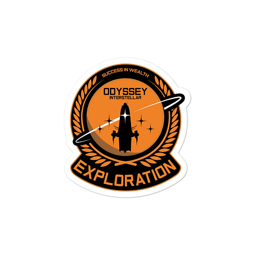 Exploration Chief Sticker