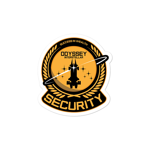 Security Executive Sticker