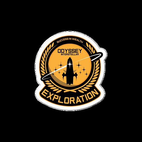 Exploration Executive Sticker
