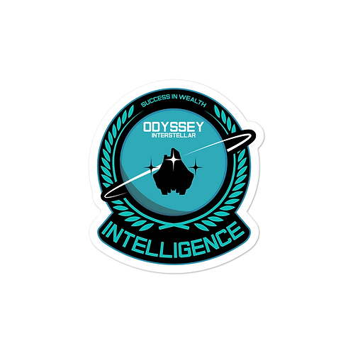 Intelligence Senior Sticker