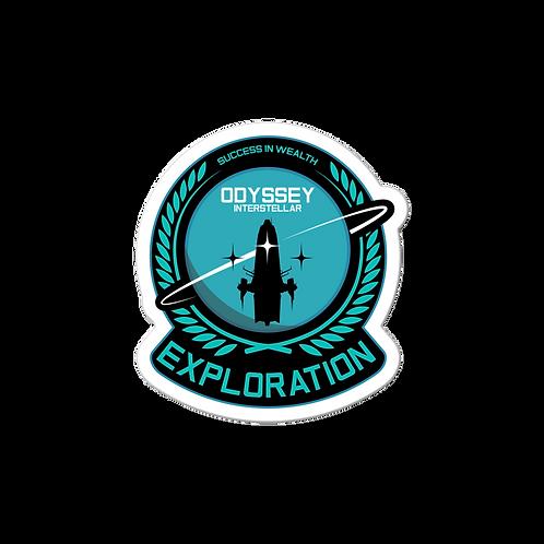 Exploration Senior Sticker