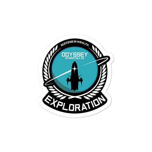 Exploration Base Sticker
