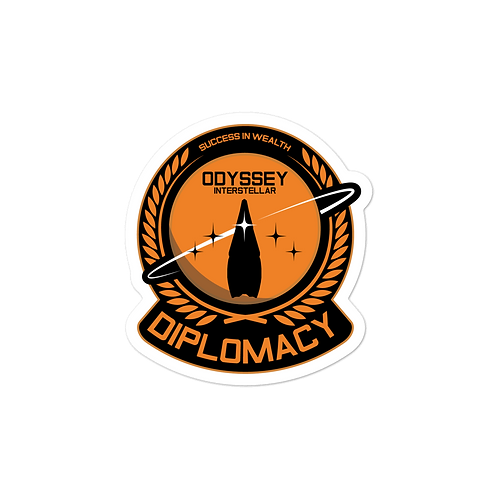 Diplomacy Chief Sticker