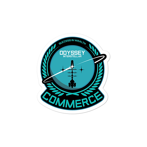 Commerce Senior Sticker