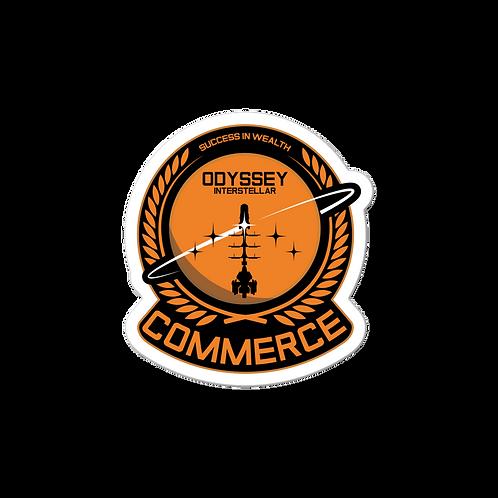 Commerce Chief Sticker