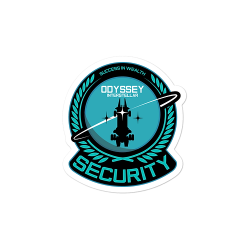 Security Senior Sticker