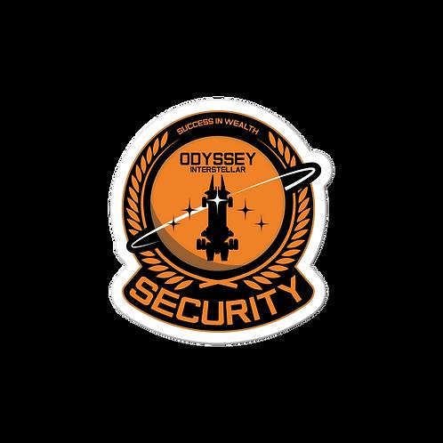 Security Chief Sticker