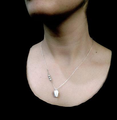 Collier Physalis perles eau douce
