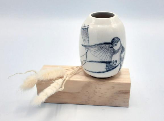Vase dessiné